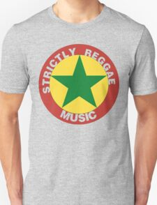 Strictly Reggae Music Unisex T-Shirt