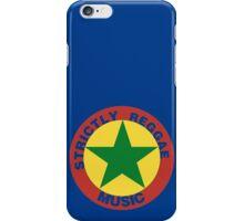 Strictly Reggae Music iPhone Case/Skin