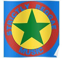 Strictly Reggae Music Poster