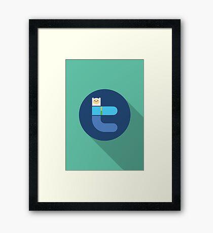 Adventure network 1 Framed Print