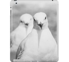 Black and White Seagull iPad Case/Skin