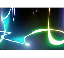 abstract glowing light Photographic Print