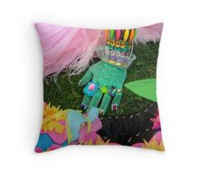 Lady in Waiting Pillow Throw Pillow