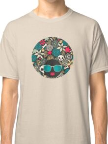 Skulls and flowers (2) Classic T-Shirt