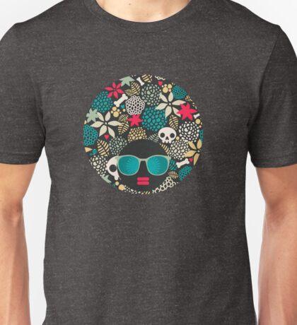 Skulls and flowers (2) Unisex T-Shirt