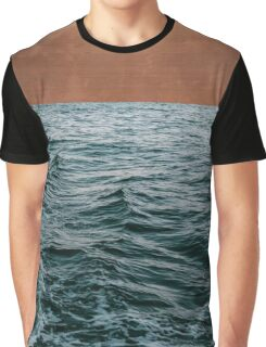 Ocean + Copper #redbubble #lifestyle Graphic T-Shirt