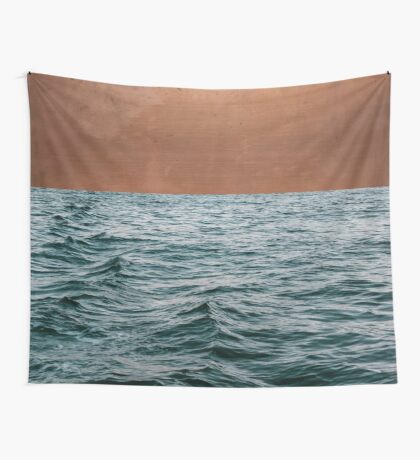 Ocean + Copper #redbubble #lifestyle Wall Tapestry