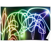 light abstract Poster