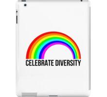 Celebrate diversity iPad Case/Skin