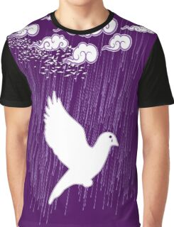 Crying Doves Graphic T-Shirt