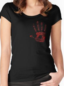 Gripped You Tight Women's Fitted Scoop T-Shirt