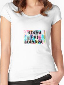 Sigma Phi Lambda Women's Fitted Scoop T-Shirt