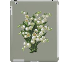 Lilies of the valley - acrylic painting iPad Case/Skin