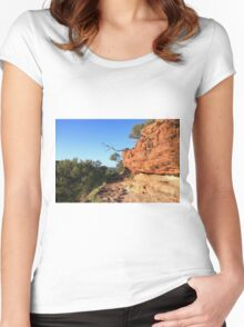 Kings Canyon Walk Women's Fitted Scoop T-Shirt