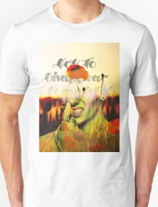 How To Disappear Completely T-Shirt