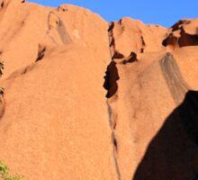 Uluru Between the Trees Sticker