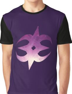 Nohrian Emblem Galaxy Graphic T-Shirt
