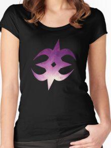 Nohrian Emblem Galaxy Women's Fitted Scoop T-Shirt