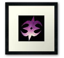 Nohrian Emblem Galaxy Framed Print