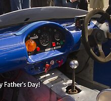 Happy Father's Day!  E-Type Jag Dashboard by Sandra Cockayne