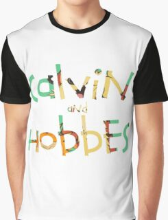 calvin and hobbes font Graphic T-Shirt