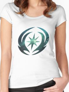 Vallite Emblem Galaxy Women's Fitted Scoop T-Shirt