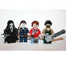 Lego Psycho Slashers Photographic Print