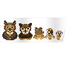 Owl Family Photo Poster
