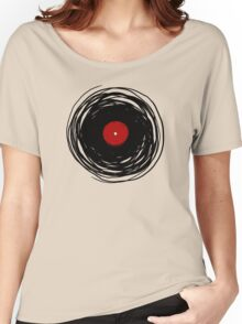 Spinning within with a vinyl record... Women's Relaxed Fit T-Shirt