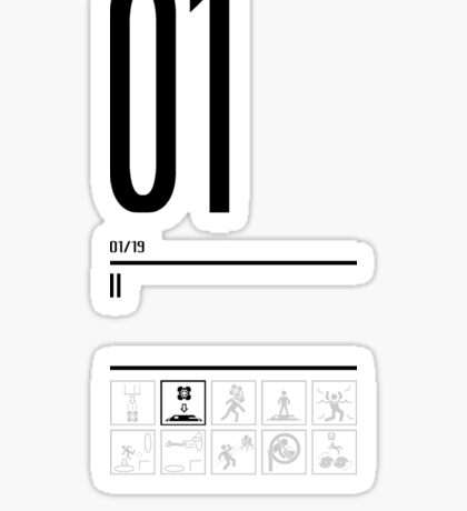 TEST 01 Sticker