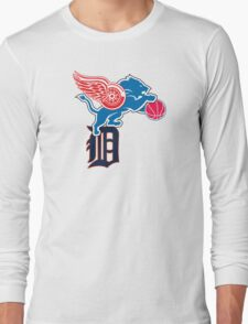 Detroit Sports Love Long Sleeve T-Shirt