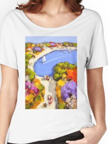 Sailing by Women's Relaxed Fit T-Shirt