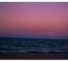 Ocean View. Photographic Print