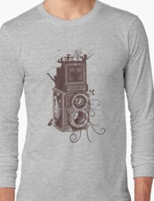 Retro Rolleiflex - Evolution of Photography - Vintage #2 Long Sleeve T-Shirt