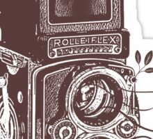 Retro Rolleiflex - Evolution of Photography - Vintage #2 Sticker