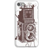 Retro Rolleiflex - Evolution of Photography - Vintage #2 iPhone Case/Skin