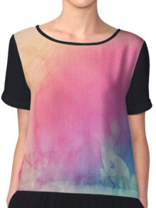 Colour Shadows Chiffon Top