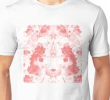 Negative Red Unisex T-Shirt