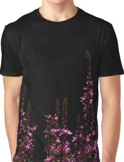 Purple Loosestrifes Graphic T-Shirt