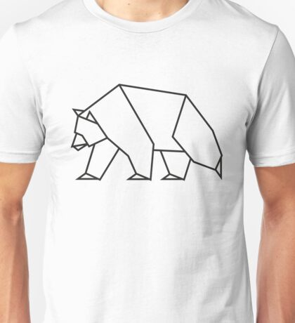 Geometric Bear Unisex T-Shirt