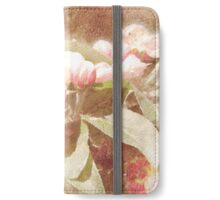 Distressed Blossom (2) iPhone Wallet/Case/Skin
