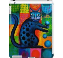 Two cheeky cats Acrylics iPad Case/Skin