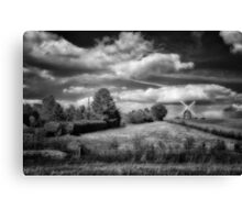 Thaxted Mill I BW Canvas Print