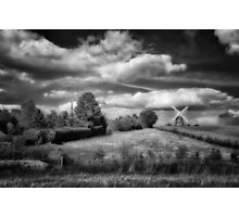 Thaxted Mill I BW Photographic Print