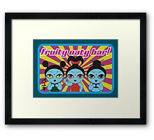 Fruity Oaty Bar! Shirt 2 (Firefly/Serenity) Framed Print