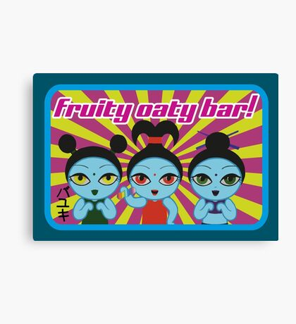 Fruity Oaty Bar! Shirt 2 (Firefly/Serenity) Canvas Print