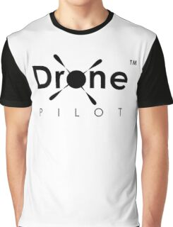Drone Pilot Gear. Aviator of Drones, Flying Quadcopters, Love UAVs, DJI Phantom Inspire Yuneec Enthusiasts Graphic T-Shirt