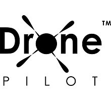 Drone Pilot Gear. Aviator of Drones, Flying Quadcopters, Love UAVs, DJI Phantom Inspire Yuneec Enthusiasts Photographic Print