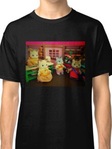 Sylvanian Families ~ Cats at the Bakery Classic T-Shirt