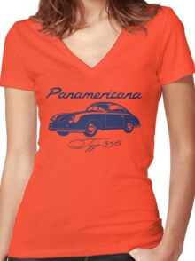356 coupe Women's Fitted V-Neck T-Shirt